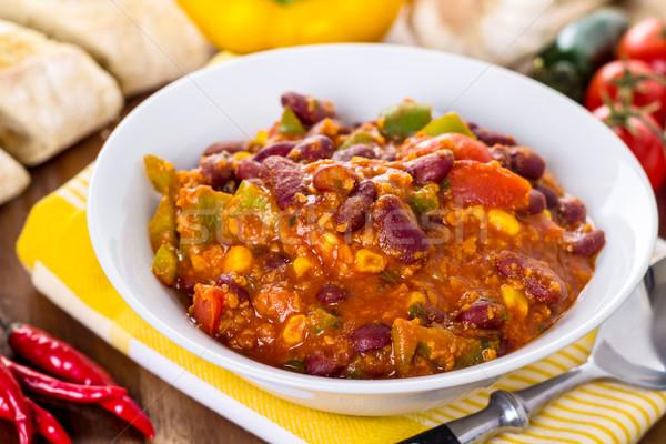 Chili gemma alimentare Foto d'archivio © vertmedia