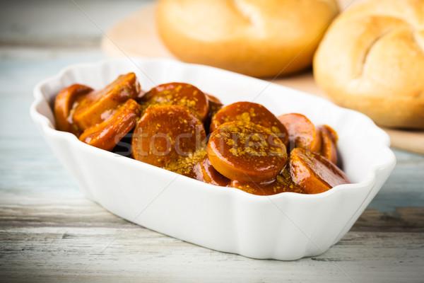 curried sausage Stock photo © vertmedia