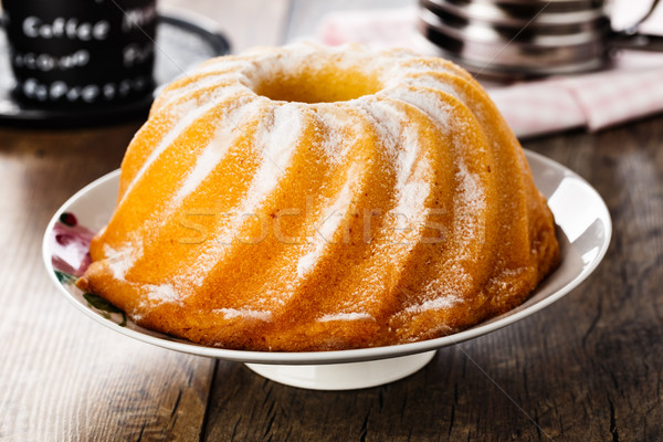 Bundt cake Stock photo © vertmedia