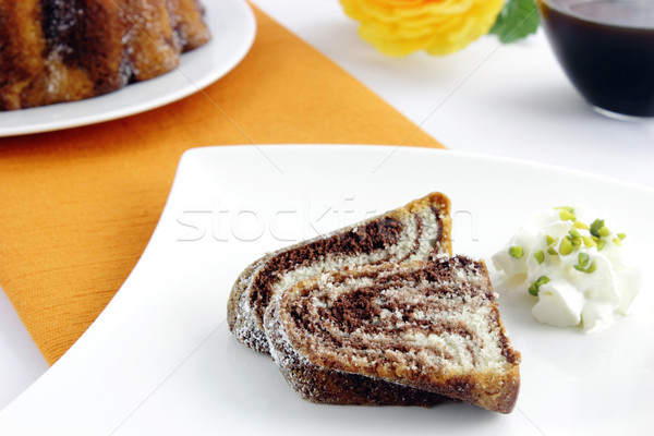 Marble cake Stock photo © vertmedia