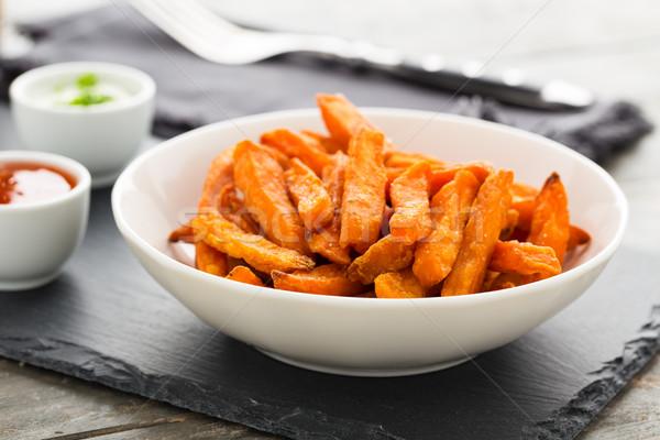 sweet potato fries Stock photo © vertmedia