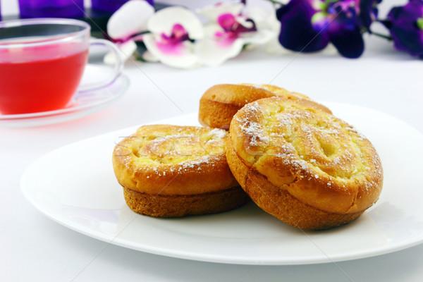 Francese lievito gustoso torta tè Foto d'archivio © vertmedia