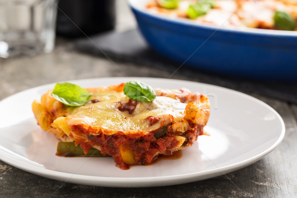 Pasta bake Stock photo © vertmedia