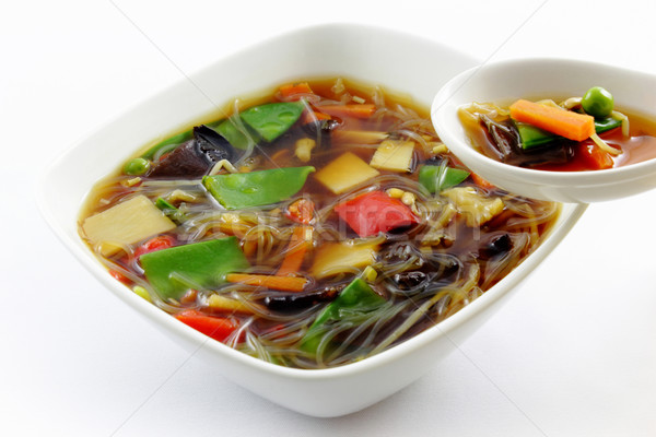 Peking soup Stock photo © vertmedia