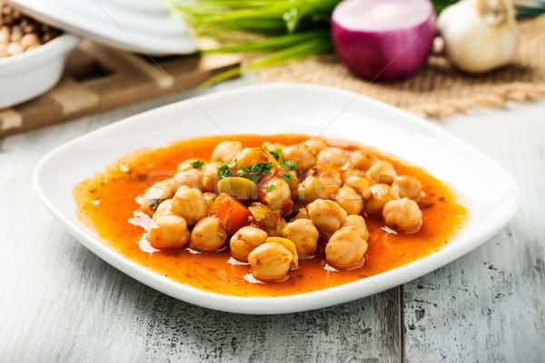 サラダ おいしい 地中海 赤 玉葱 人参 ストックフォト © vertmedia