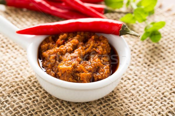 Hot pesto Stock photo © vertmedia