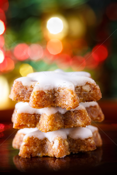 Xmas cinnamon cookies Stock photo © vertmedia