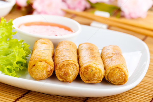 Spring rolls Stock photo © vertmedia