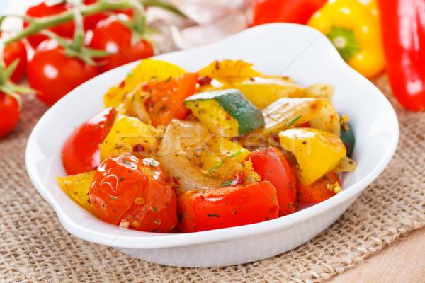 Ratatouille - fresh roasted vegetables Stock photo © vertmedia