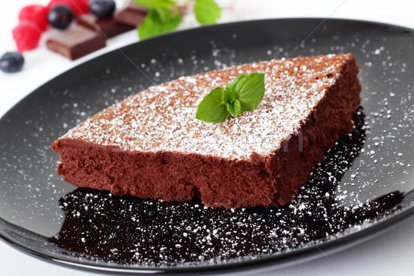 Stockfoto: Vloeibare · kern · vruchten · snoep · dessert