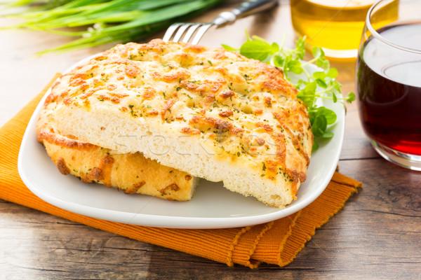 Focaccia al formaggio Stock photo © vertmedia