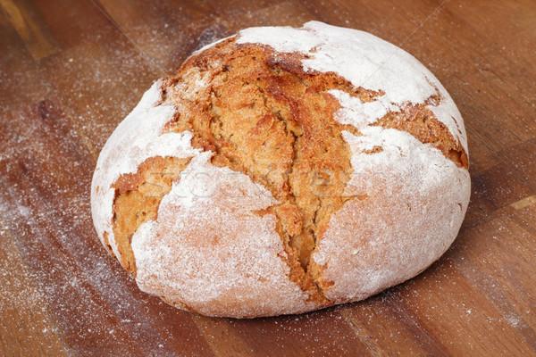 fresh farmhouse bread Stock photo © vertmedia