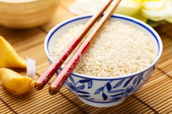 Rice in a bowl Stock photo © vertmedia