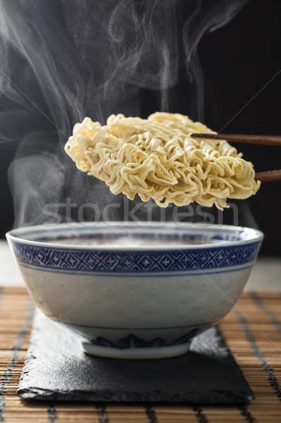 Asian immediato tradizionale ciotola vapore Foto d'archivio © vertmedia