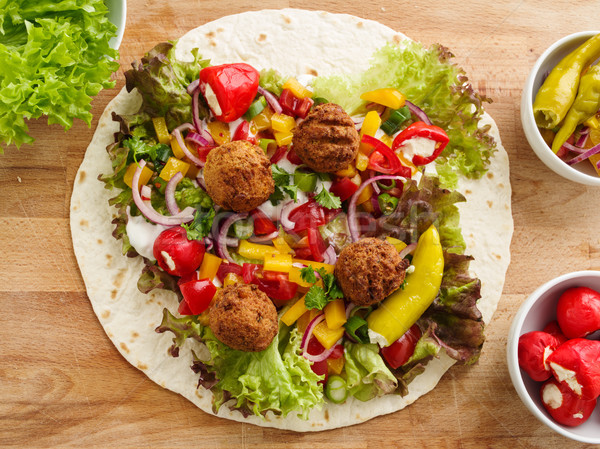 Falafel wrap Stock photo © vertmedia