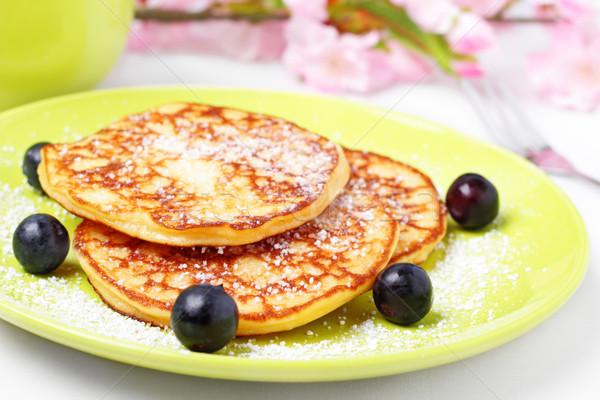 sugared pancakes Stock photo © vertmedia