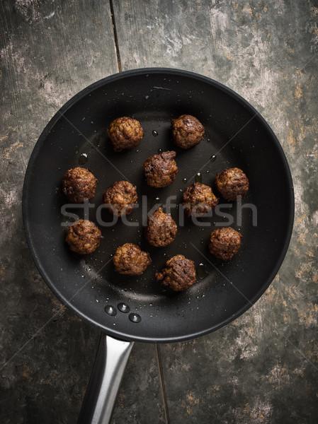 vegan meatballs Stock photo © vertmedia