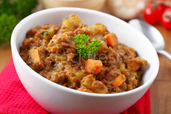 lentil stew Stock photo © vertmedia