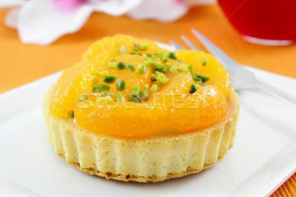 tangarine tartlet  Stock photo © vertmedia