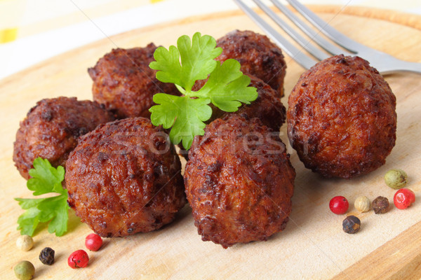 Meatballs Stock photo © vertmedia