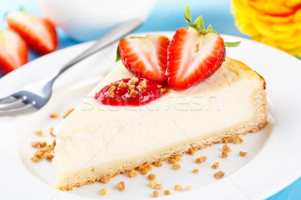 cheese shortcake Stock photo © vertmedia