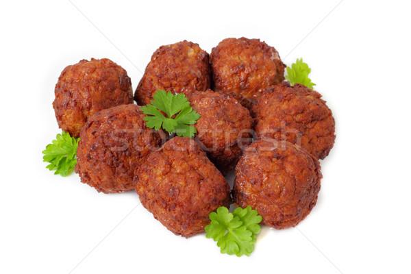 ミートボール パセリ ディナー 肉 食事 グリル ストックフォト © vertmedia
