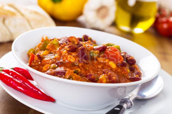 Chili con carne Stock photo © vertmedia
