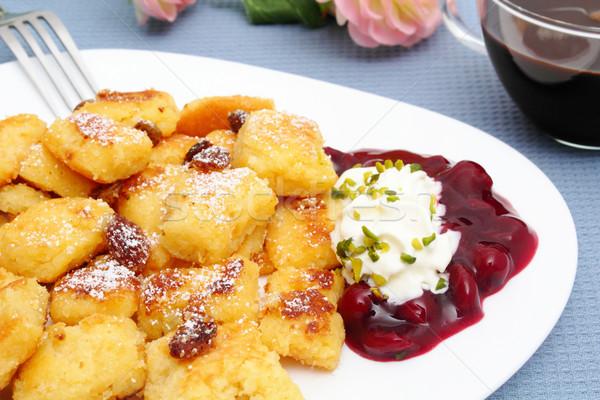 sugared pancake - Kaiserschmarrn Stock photo © vertmedia
