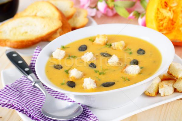 Pumpkin soup Stock photo © vertmedia
