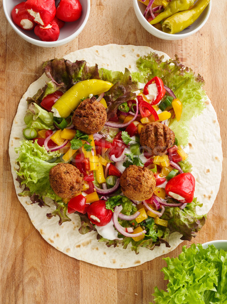 Falafel wrap Stock photo © vertmedia