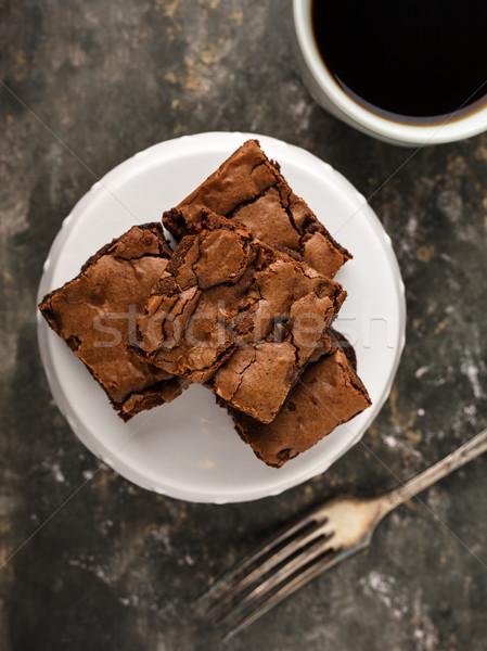 Brownies Stock photo © vertmedia