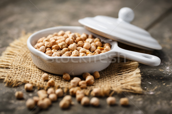 dried chickpeas Stock photo © vertmedia