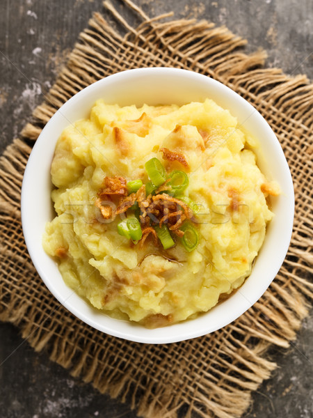 картофель лук служивший небольшой чаши Сток-фото © vertmedia