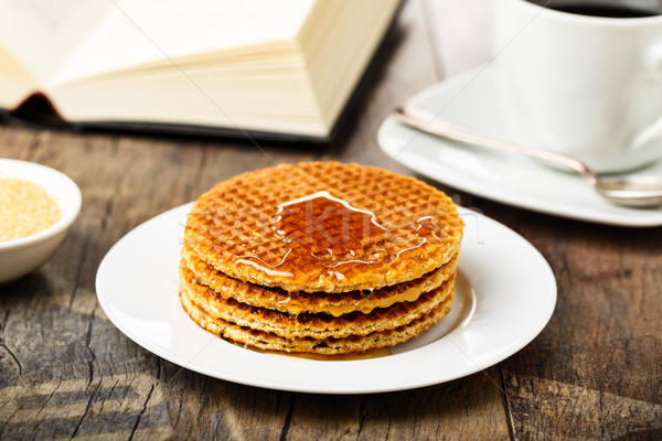 Stroopwafels - Syrup waffles Stock photo © vertmedia
