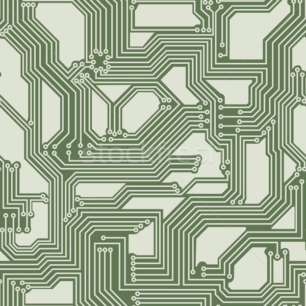 Sem costura elétrico placa de circuito vetor circuito computador Foto stock © Vertyr