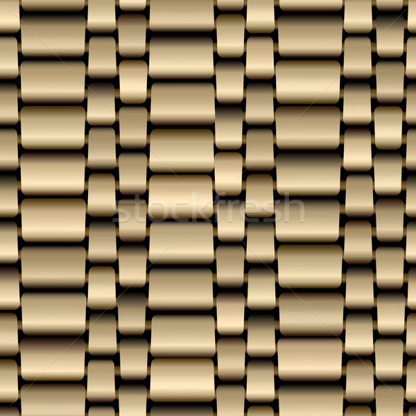 Seamless background of gold chain track. Stock photo © Vertyr