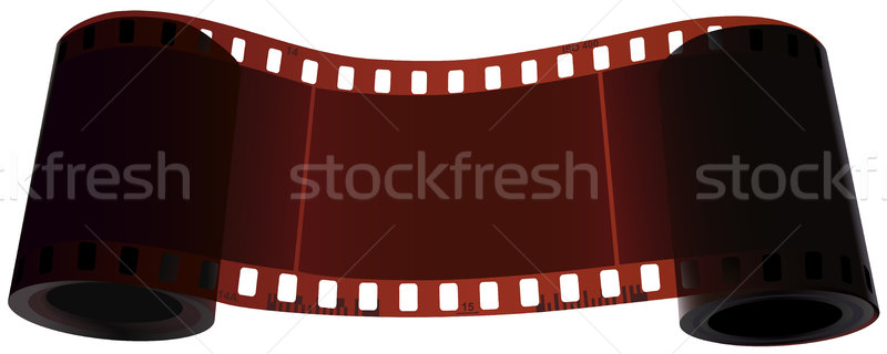 Scroll of two bobbin of one film. Stock photo © Vertyr