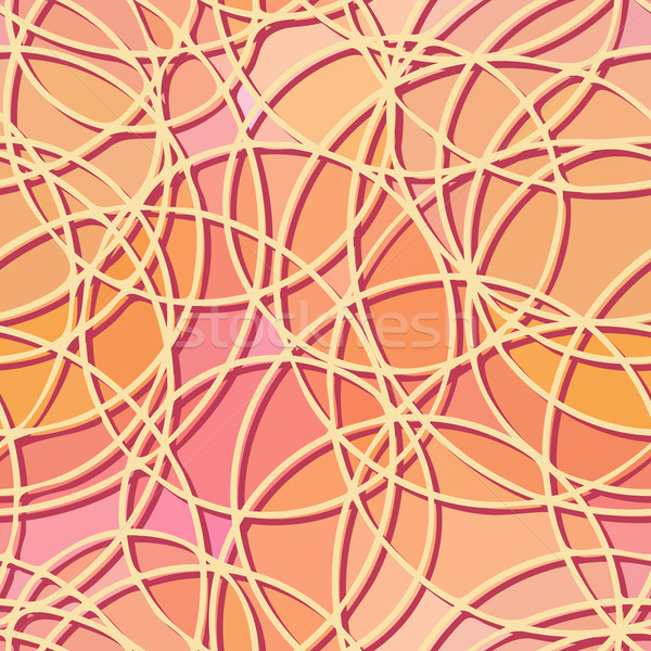 Seamless abstract pattern of circular elements. Stock photo © Vertyr