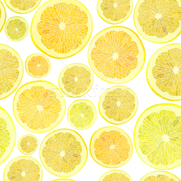 Background of cut across a lot of citrus fruits. Stock photo © Vertyr