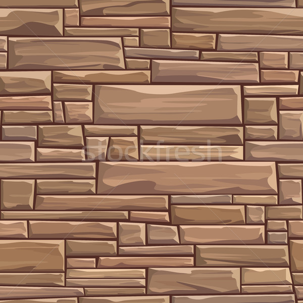 シームレス 壁 長方形の レンガ ベクトル ストックフォト © Vertyr