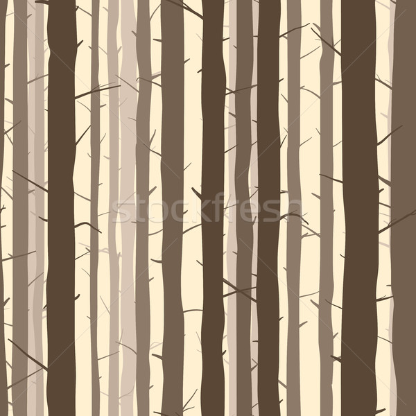 Seamless background with many tree trunks. Stock photo © Vertyr