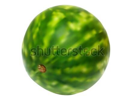illustration of juicy water melon Stock photo © vetdoctor