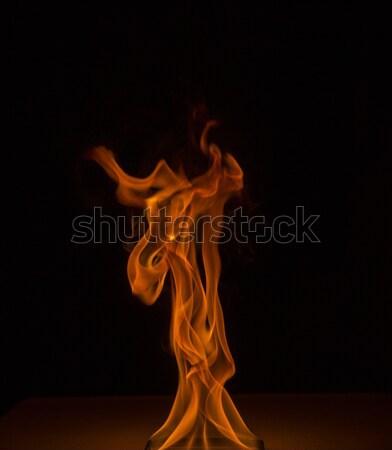 Flame make strange shapes Stock photo © vetdoctor