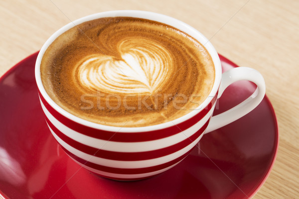 Zoomed coffee cup with boom Stock photo © vetdoctor