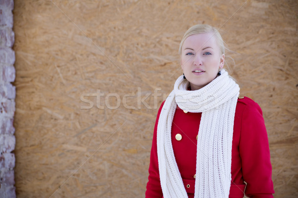 Young woman with haughty look Stock photo © vetdoctor