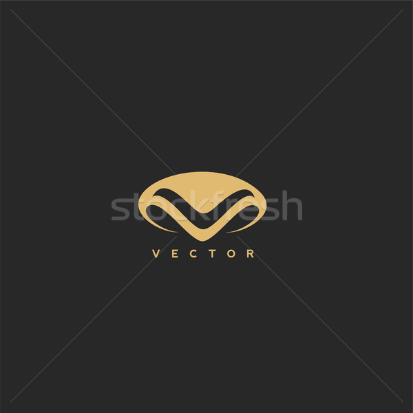 human nose with vector illustration. Stock photo © Vicasso