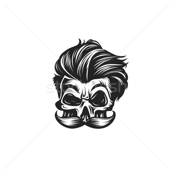 Swag skull vector illustration Stock photo © Vicasso
