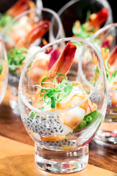 Shrimp cocktail Stock photo © vichie81