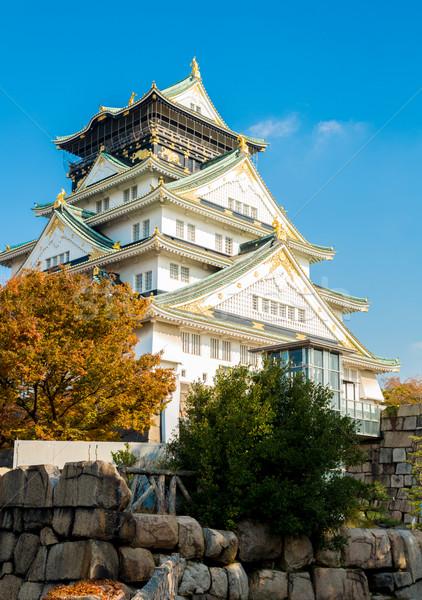 Osaka castle Japan Stock photo © vichie81