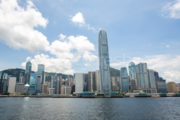 Victoria Harbour Hong Kong Stock photo © vichie81